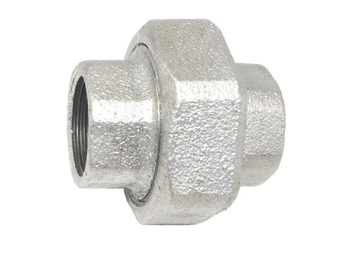 330 Galvanized Malleable Iron Unions , Malleable Iron Pipe Fittings Parts