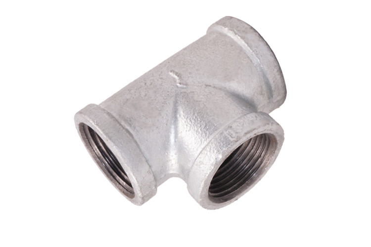 1/2 Inch Galvanised Malleable Pipe Fittings Good Toughness With Long Working Life